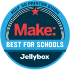 JellyBOX 3D Printer Category winners - Best for schools
